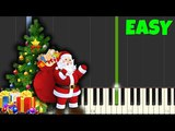 We Wish You a Merry Christmas Easy Piano Tutorial (SynthesiaSheet Music)