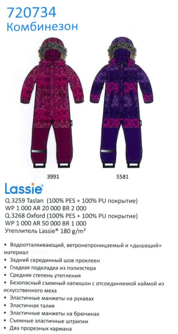 Зимний комбинезон 720734-5581