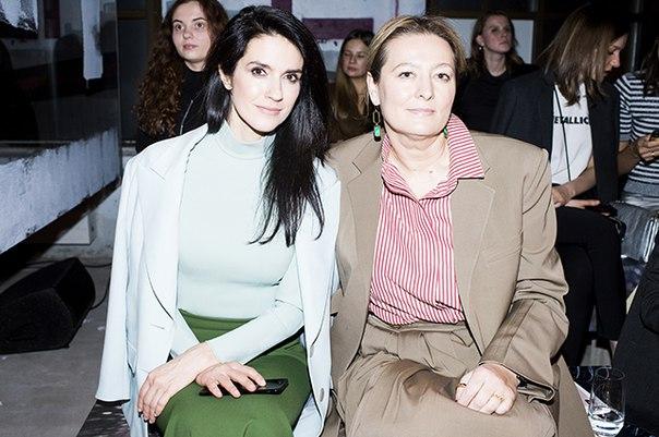 Ксения Собчак, Леся Кафельникова, Маша Федорова и другие на показе ЦУМ Fashion Show