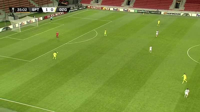 Spartak Trnawa-GNK Dinamo Zagreb.1st.