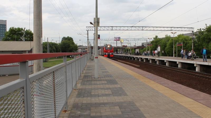 ЭП2К-314 с поездом Москва-Саратов