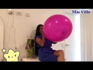 MacVille - Raspberry Balloon - Blow to Pop (B2P)
