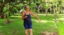 Rita gärtnert -Auswandern Paraguay Permakultur El Paraiso Verde Bananencircle