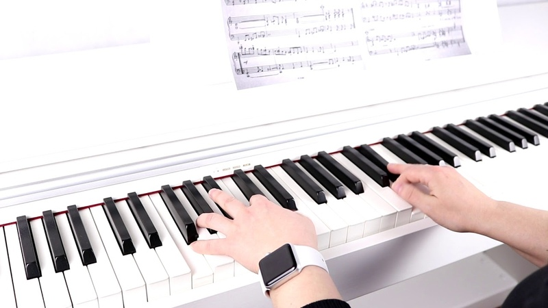 Игра на пианино.Милан Дворжак - Джазовый этюд 28
