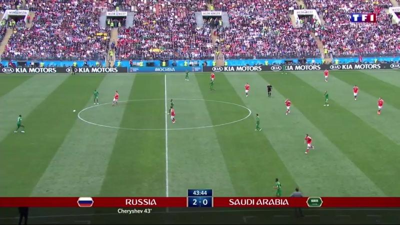 Coupe du monde - Russie - Arabie Saoudite