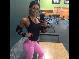 Кассандра Мартин (Cassandra Martin, USA) фитнес модель
