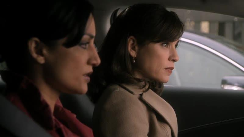 The Good Wife | Alicia and Kalinda | Archie Panjabi and Julianna Margulies