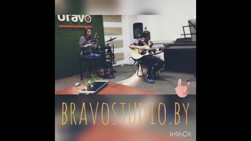 BravoStudio. Репетиция отчетного концерта студии Bravo. Radioactive