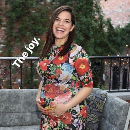 Америка Феррера впервые стала матерью
