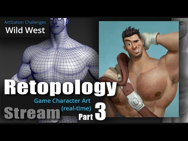 Wild west part 3 retopology