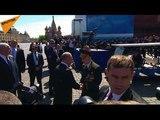 Poutine prend le parti dun v