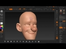 Zbrush Tutorial - Stylized Head Sculpting Part03 - Topology