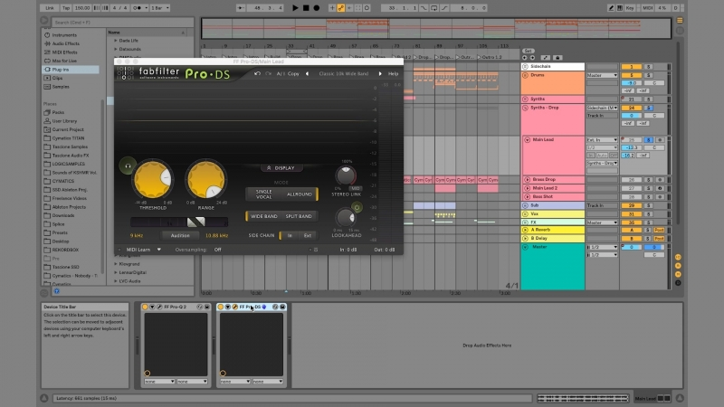 Mixing and Mastering With FabFilter Plugins in Ableton Live