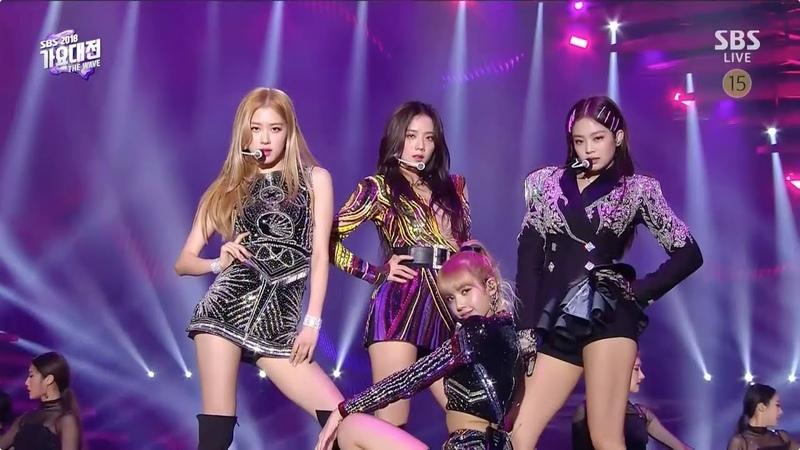BLACKPINK - SOLO 뚜두뚜두(DDU-DU DDU-DU) FOREVER YOUNG in 2018 SBS Gayodaejun