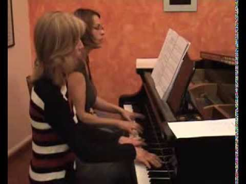 Shostakovich Second Waltz from the Jazz Suite no 2 for piano four hands