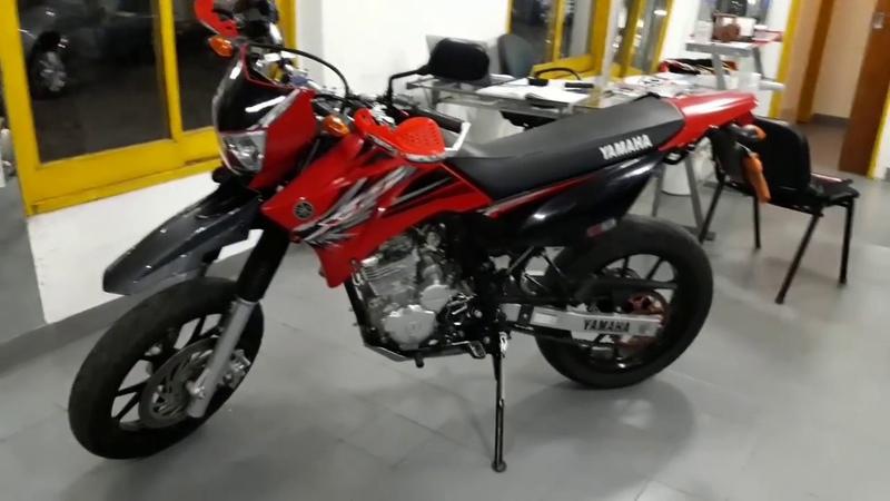 Yamaha xtz 250 motard por el pai videos parte 1