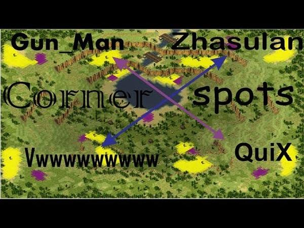 Red Alert 2 Yuri's Revenge - 2 vs 2 Pro Team Game on the map Jungle of Vietnam