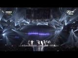 BTS vs Block B, MAMA 2014