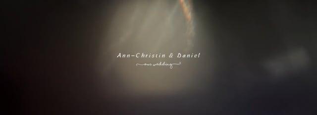 Hochzeit von Ann Christin Daniel