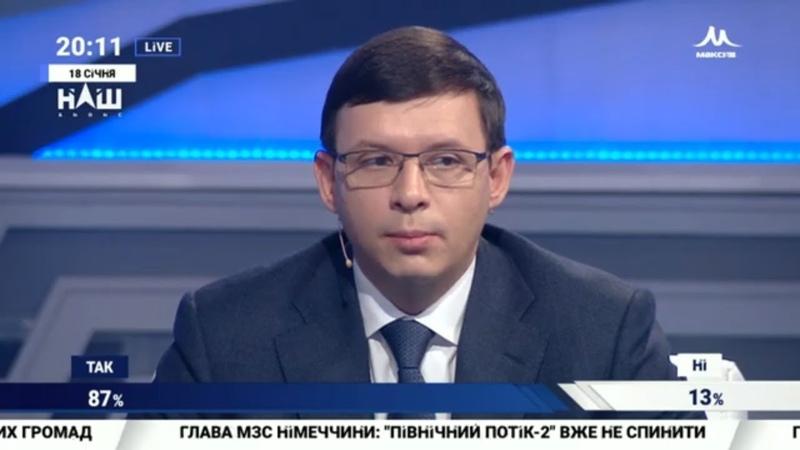 """Мураєв Для того, щоб закінчити війну, потрібно обрати іншу ідеологію.""""Події дня"""" 18.01.19"""