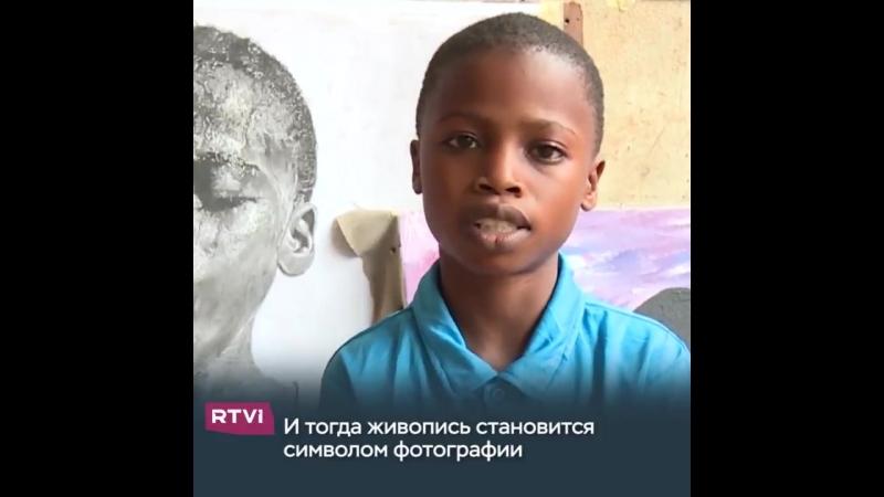 11-летний мальчик из Нигерии рисует потрясающие воображение картины в стиле гиперреализма. Он самоучка, а его семье не всегда хв