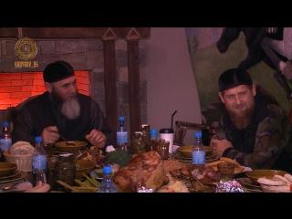 Ифтар в Нохчийн-Юрт, вместе с муфтием Чечни Салах-Хаджи Межиевым, советником Главы ЧР Адамом Шахидовым и другими богословами.