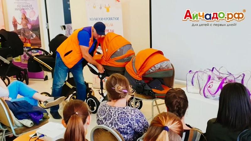 Аукцион-розыгрыш: детская коляска Noordline Stephania Style 2 в 1 за полцены!