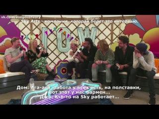 Nothing But Thieves Isle of Wight Festival (РУССКИЕ СУБТИТРЫ)