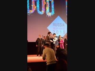 Барун Собти на открытии фестиваля
