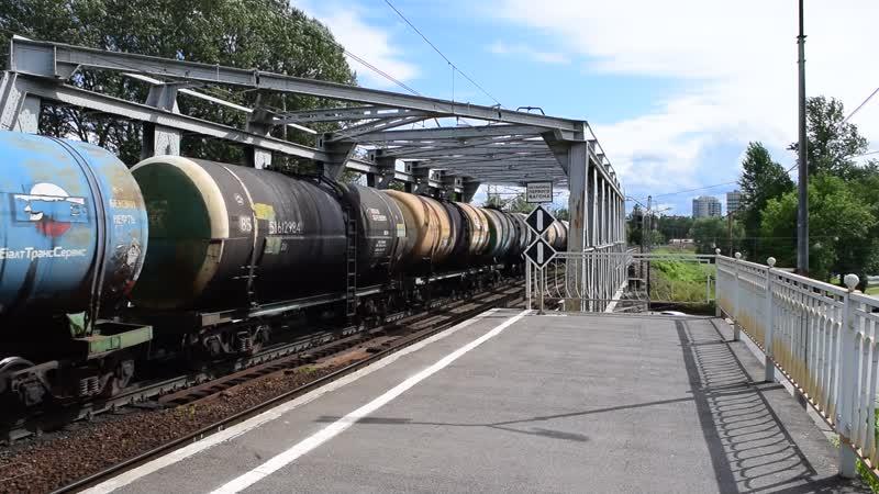 ВЛ10-1294 проходит по станции Ланская