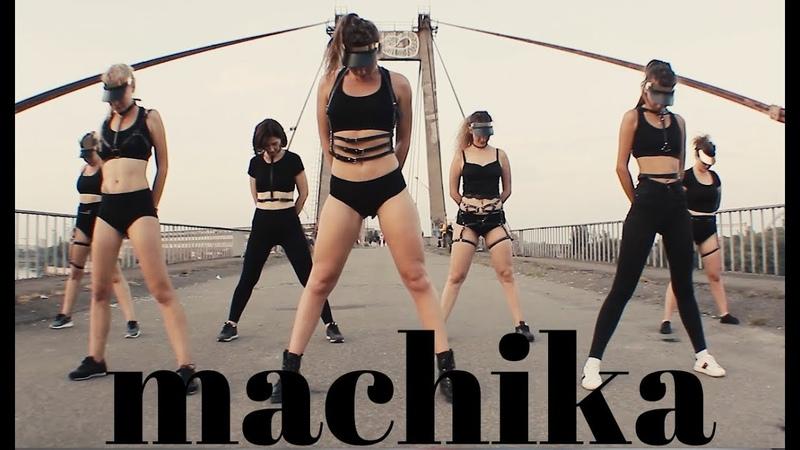 Machika \ reggaeton dance \ choreographer Kristinita Zabrosa