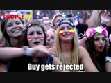 PEOPLE OF TOMORROWLAND - GUY GETS REJECTED