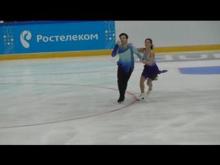 Софья Евдокимова/Егор Базин, ПТ, Контрольные прокаты 2018-2019