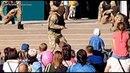 Украинский спецназ показал запорожским детям, как перерезать горло противнику