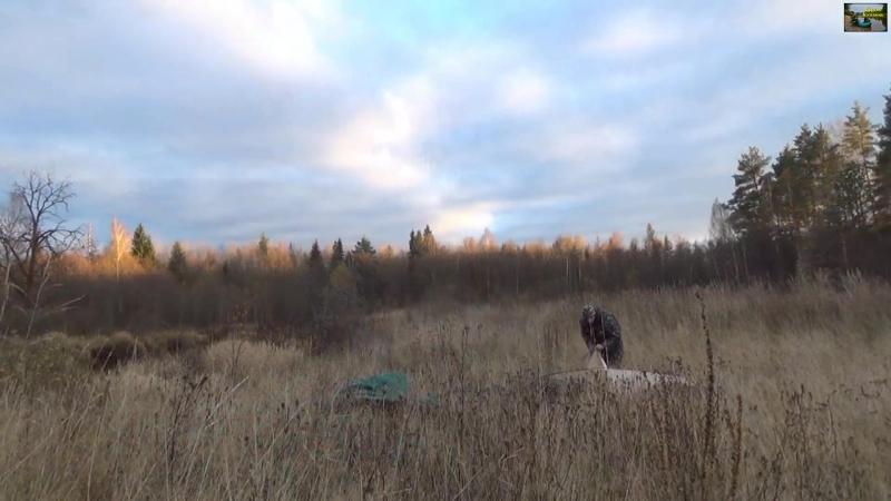 Одиночный сплав по реке Люнда - 1 часть Full HD _⁄ Single floating on the river Lunda - part 1