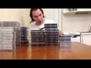 Моя коллекция игр на приставку Sony PlayStation 89 Jewel Cases.