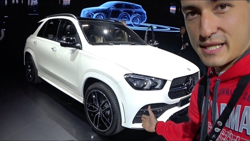 ПЕРВЫЙ ОБЗОР новый GLE от Mercedes X5 G05 лучше Эксклюзив с автосалона в Париже.