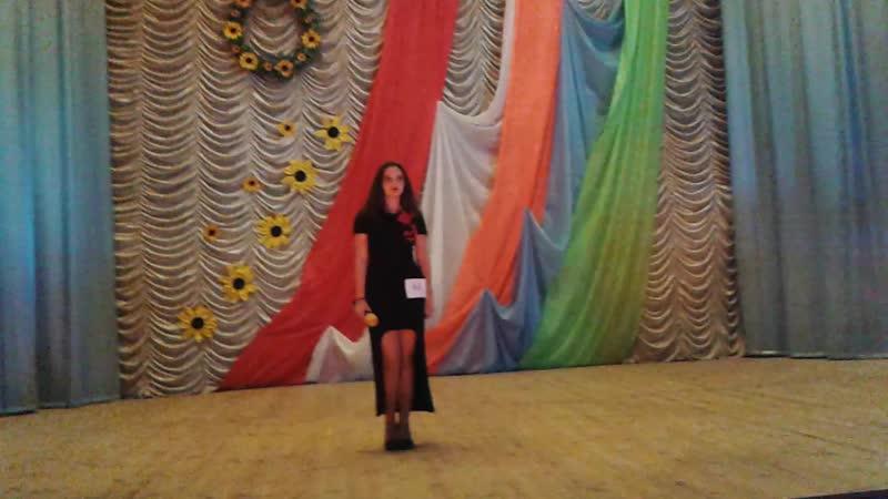 Лесіва Валерія, обласний відкритий фестиваль З Україною в серці