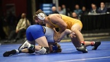 157lbs: Joshua Shields (Arizona State) dec Luke Zilverberg (South Dakota State)