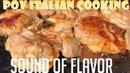 Sound of Flavor - Chicken with Marsala Marinade and Vegetables