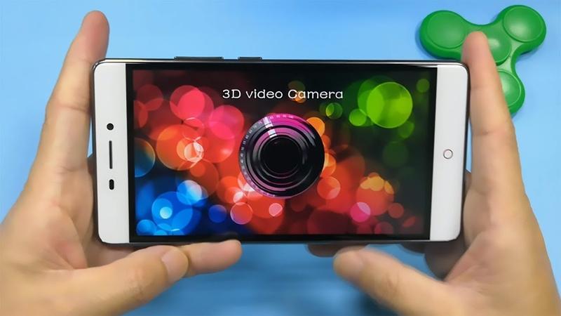 V5 K3DX V5G Smartphone Unboxing(3D Video Camera)