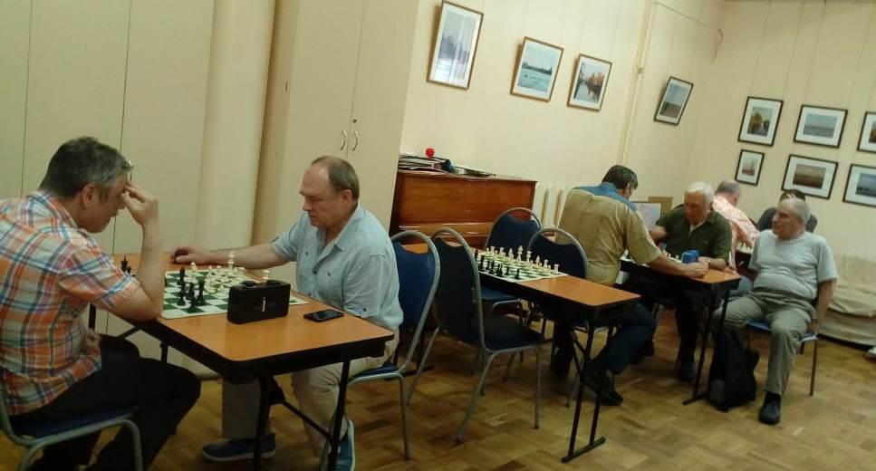 """турнир по шахматам в клубе """"Сфера"""""""