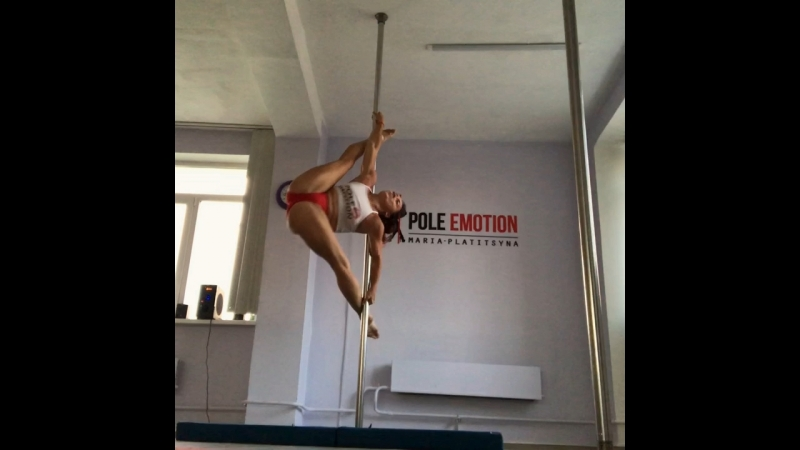 Мария Платицына pole dance