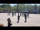 Парад на площади К.И. Назаровой ко Дню Великой Победы г. Острова. Часть 5