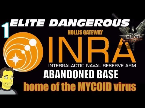 Elite Dangerous INRA Abandoned installation from the last Thargoid War