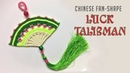 Macrame keychain tutorial - The Chinese Fan-shape Luck Talisman - thắt bùa may mắn hình quạt