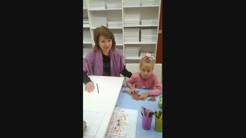 отзыв от бабушки нашей ученицы Аношкиной Варвары(5 лет)