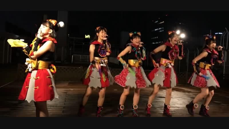 Wa-Suta 「GIRLS, BE AMBITIOUS!」 リリースイベント 2部 @池袋パルコ屋上 wasuta 04/11/2018