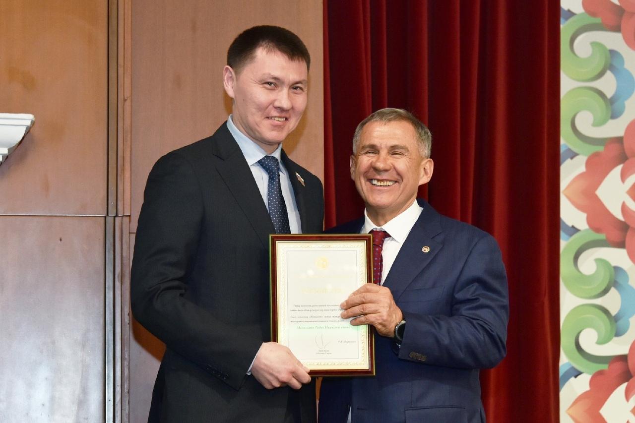 Рустам Минниханов и Радик Миниханов