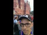 Народные гуляния в районе Красной площади